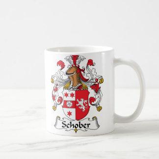 Escudo de la familia de Schober Taza
