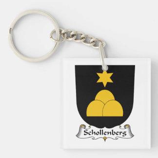 Escudo de la familia de Schollenberg Llavero