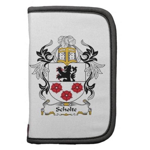 Escudo de la familia de Scholte Organizadores