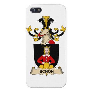 Escudo de la familia de Schön iPhone 5 Cobertura