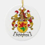 Escudo de la familia de Schonberg Adorno De Navidad
