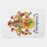 Escudo de la familia de Schonberg Toalla De Mano