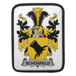 Escudo de la familia de Schonfeld Fundas Para iPads