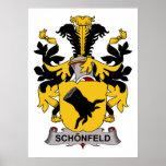 Escudo de la familia de Schonfeld Impresiones