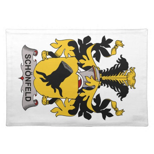 Escudo de la familia de Schonfeld Mantel