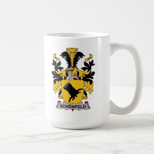 Escudo de la familia de Schonfeld Taza