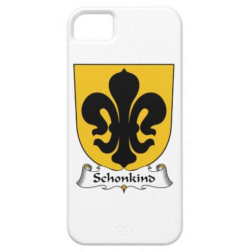 Escudo de la familia de Schonkind iPhone 5 Carcasas