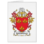Escudo de la familia de Schoonhoven Felicitaciones