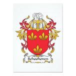 Escudo de la familia de Schoonhoven Anuncios Personalizados