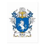 Escudo de la familia de Schot Postales