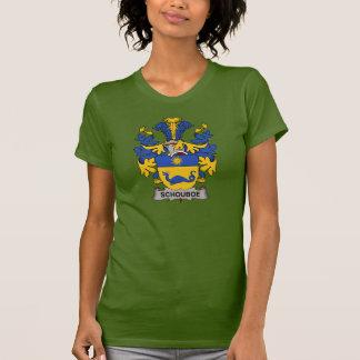 Escudo de la familia de Schouboe Tee Shirts