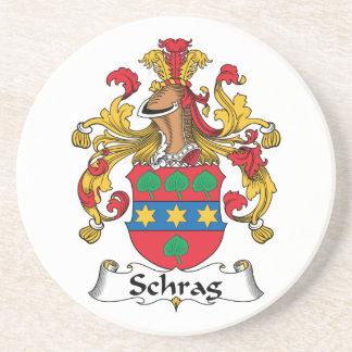 Escudo de la familia de Schrag Posavasos Manualidades