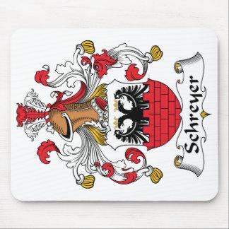 Escudo de la familia de Schreyer Alfombrillas De Ratón