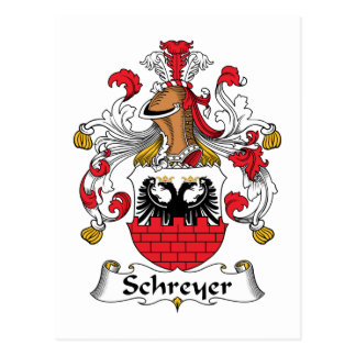 Escudo de la familia de Schreyer Postal