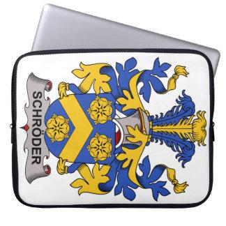 Escudo de la familia de Schroder Funda Ordendadores