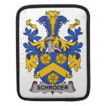 Escudo de la familia de Schroder Fundas Para iPads