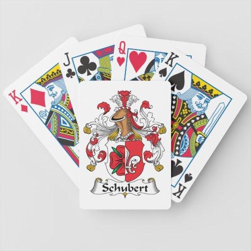 Escudo de la familia de Schubert Barajas De Cartas
