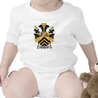 Escudo de la familia de Schulin Camisetas