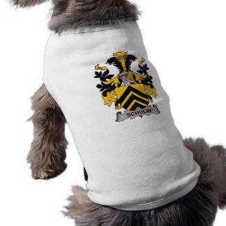 Escudo de la familia de Schulin Camisetas De Perro