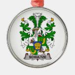 Escudo de la familia de Schultze Adorno De Navidad