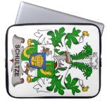 Escudo de la familia de Schultze Funda Portátil