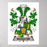 Escudo de la familia de Schultze Impresiones