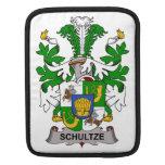 Escudo de la familia de Schultze Mangas De iPad