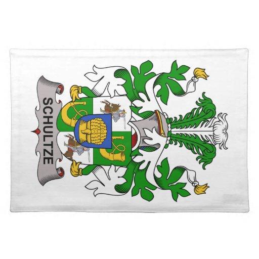 Escudo de la familia de Schultze Manteles