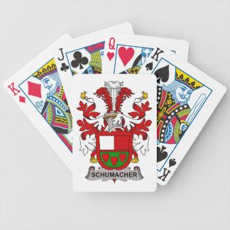 Escudo de la familia de Schumacher Barajas De Cartas