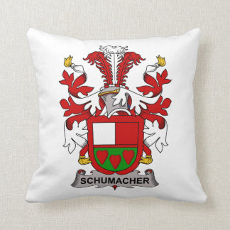 Escudo de la familia de Schumacher Cojín