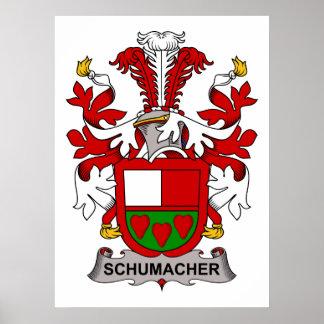 Escudo de la familia de Schumacher Póster