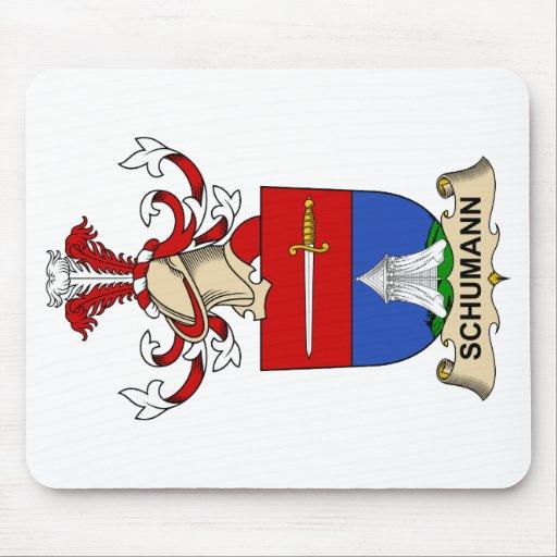 Escudo de la familia de Schumann Alfombrilla De Ratones