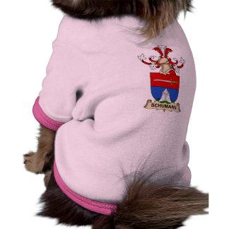 Escudo de la familia de Schumann Ropa Para Mascota
