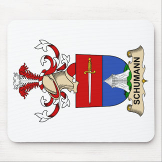 Escudo de la familia de Schumann Alfombrilla De Ratón