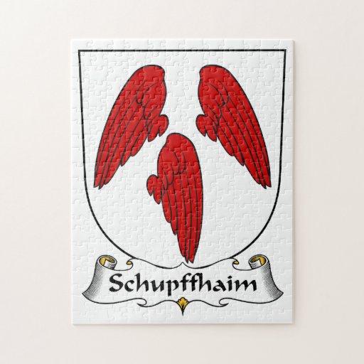Escudo de la familia de Schupffhaim Puzzles Con Fotos