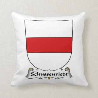Escudo de la familia de Schussenriedt Almohada