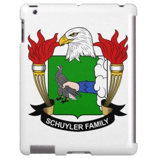 Escudo de la familia de Schuyler Funda Para iPad