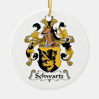 Escudo de la familia de Schwartz Ornamentos De Reyes Magos