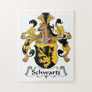 Escudo de la familia de Schwartz Puzzles