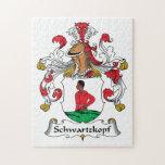Escudo de la familia de Schwartzkopf Rompecabezas