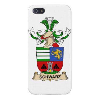 Escudo de la familia de Schwarz iPhone 5 Protector