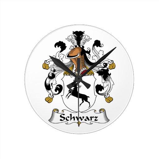 Escudo de la familia de Schwarz Reloj