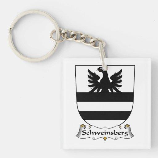 Escudo de la familia de Schweinsberg Llavero