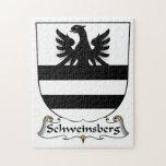 Escudo de la familia de Schweinsberg Rompecabeza Con Fotos