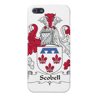 Escudo de la familia de Scobell iPhone 5 Funda