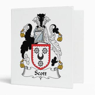 """Escudo de la familia de Scott Carpeta 1"""""""