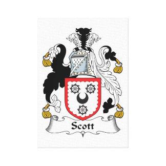 Escudo de la familia de Scott Lona Estirada Galerías