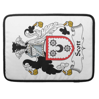 Escudo de la familia de Scott Funda Para Macbook Pro