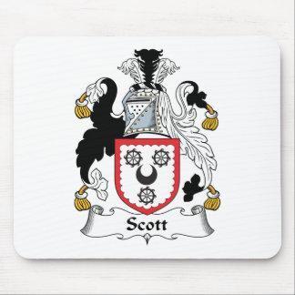 Escudo de la familia de Scott Mousepads