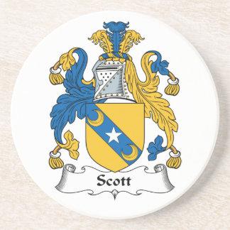 Escudo de la familia de Scott Posavasos Manualidades